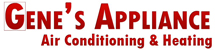 Gene's Appliance Air Conditioning & Heating Logo